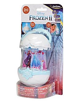 Frozen GoGlow Pop Night Light & Torch