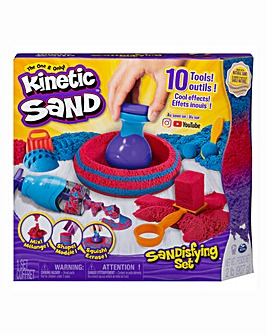 Kinetic Sand Sandisfying Set