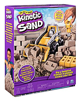 Kinetic Sand Dig n' Demolish