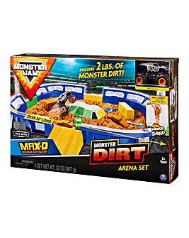 Monster Jam Dirt Arena Playset
