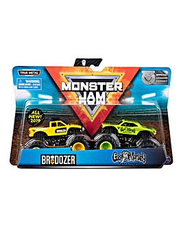 Monster Jam 2 Pack Monster Trucks Assortment