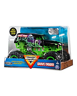 Monster Jam 1:24 Scale Die Cast Trucks- Grave Digger