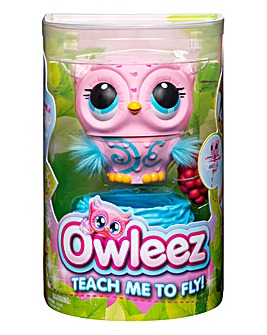 Owleez Interactive Pet Pink