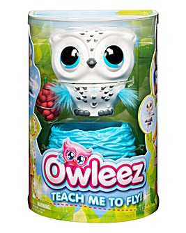 Owleez Interactive Pet White