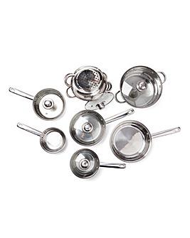 Sabichi Stainless Steel 9pc Pan Set