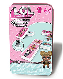 L.O.L Surprise Dominoes Tin