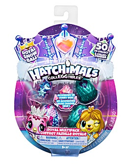 Hatchimals Royal Winter SnowBall 4 Pack