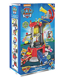 Paw Patrol Mighty Pups SuperPaws Look Out Tower