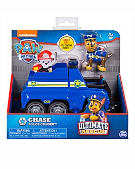 Paw Patrol Rescue Vehicles Chase