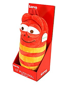 Larva 12in Plush with Sounds - Red
