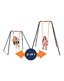 Hedstrom Deluxe 2 in 1 Swing