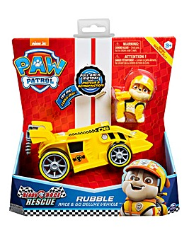 Paw Patrol Race & Go Deluxe - Rubble
