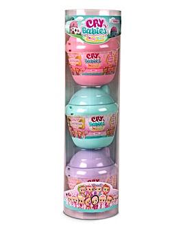 Cry Babies Magic Tears Bottle House 3pk