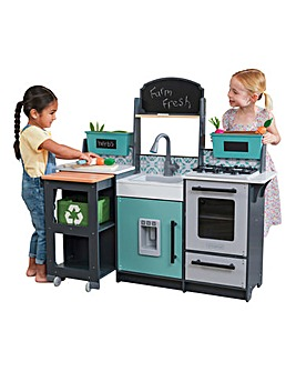 Kidkraft Garden Gourmet Play Kitchen