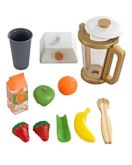 Kidkraft Wooden Smoothie Set - Metallics