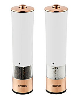 Tower Linear Electric Salt & Pepper Mill
