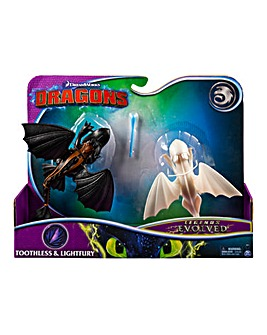 Toothless & Lightfury Set