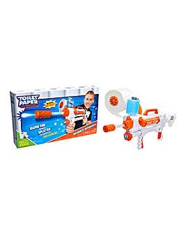 Toilet Paper Blaster Sheet Storm