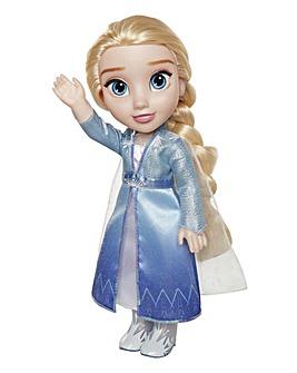Frozen 2 Elsa Travel Doll