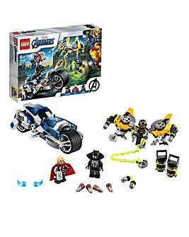 LEGO Marvel Avengers Speeder Bike Attack