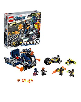 LEGO Marvel Avengers Truck Take-down