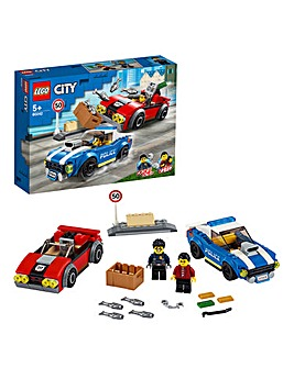 LEGO City Police Highway Arrest - 60242