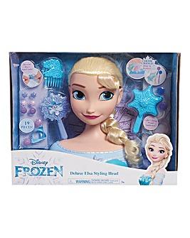 Deluxe Elsa Styling Head