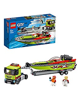 LEGO City Racing Boat Transporter