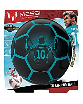 Messi Pro Training Ball Black and Blue