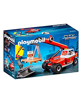 Playmobil 9465 City Action Fire Crane