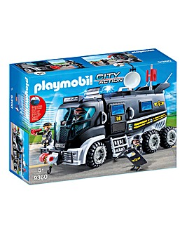 Playmobil 9360 City Action SWAT Truck