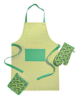 Kew Apron Glove Pot Holder