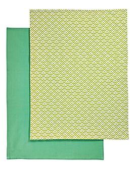Kew Set of 2 Tea Towels