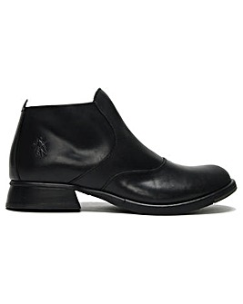 Fly London Acra Leather Ankle Boots