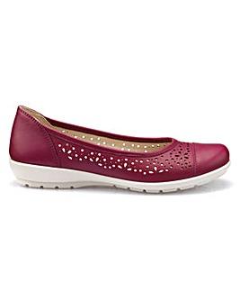 Hotter Precious Standard Ballerina Shoe