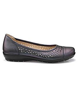 0d5e029bc55d Hotter Precious Standard Ballerina Shoe