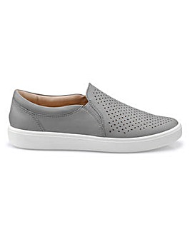 Hotter Daisy Wide Fit Slip-on Shoe