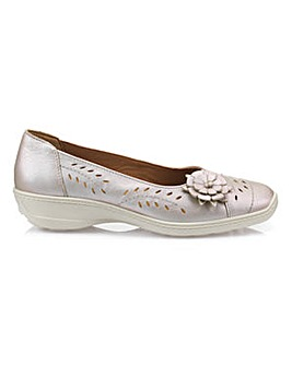 Hotter Mexico Wide Fit Ballerina Shoe