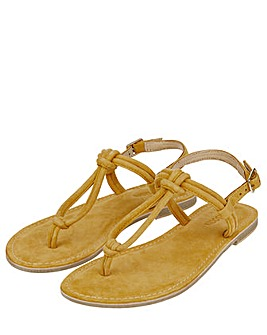 Monsoon Lola Loop Suede Sandal