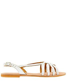 Monsoon Sloane Stripey Plait Sandal