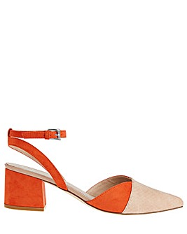 Monsoon Callie Colour Block Shoes