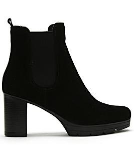 Daniel Ridley Suede Chelsea Boots