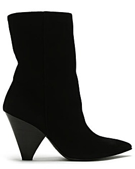 Daniel Annabelle Cone Heel Ankle Boots