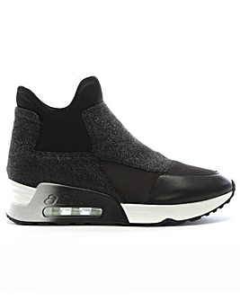 Ash Lazer Glit High Top Trainers
