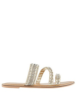 Accessorize Boston Embellished Slide