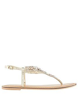 Accessorize Athens Embellished Sandal