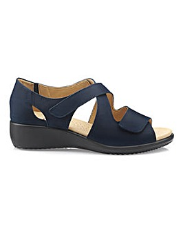 Hotter Riga Extra Wide Strappy Sandal