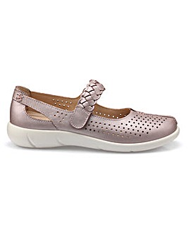 Hotter Quake Wide Fit Mary Jane Shoe