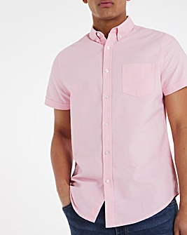 Short Sleeve Oxford Shirt Long
