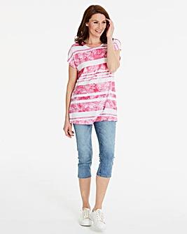 Tie Dye Stripe T-shirt